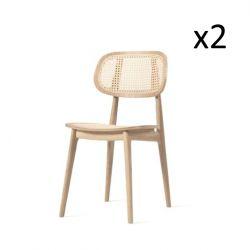 Titus Dining Chair | Set of 2 | Natural Oak