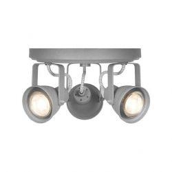 LED Spot Aken 3 Lichter | Grau