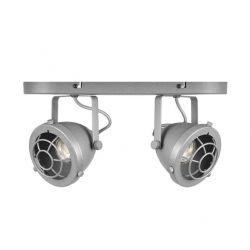 LED-Spot Altena 2 Leuchten | Grau