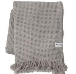 Handtuch Waffly 100 x 170 cm | Stone