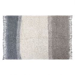 Wool Rug | Into The Blue