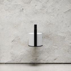Toilet Paper Holder Extra | Black