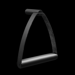 Toilet Paper Holder Metal | Black
