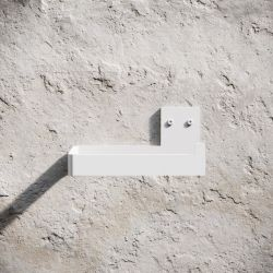 Toilet Paper Holder | White