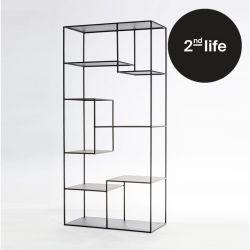 2tes Leben | Bücherregal Tokio | Schwarz