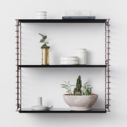 Book Shelf | Bronze & Black