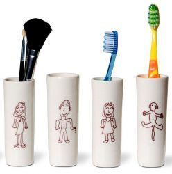 Tootbrush Vases Ulrike Family Part II