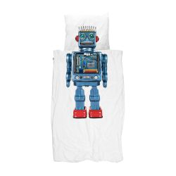 Bettdecke Robot