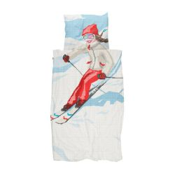 Duvet Cover Ski Girl