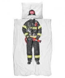 Duvet cover Firefighter