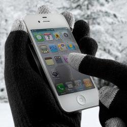 Touchscreen-Handschuhe | Schwarz