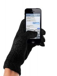 Touchscreen-Handschuhe Schwarz | S/M