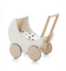 Speelgoed Kinderwagen | Wit