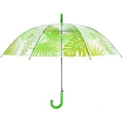 Umbrella | Transparent Jungle Leaves