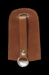 Key Case Home Bell | Cognac