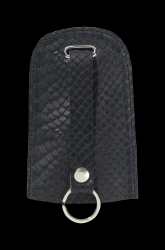 Key Case Home Bell Croco | Black