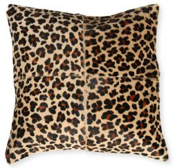 Leather Pillow Safari | Jaguar