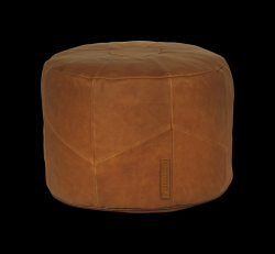 Poef Home Rond | Cognac
