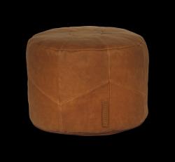 Pouf Home Rund | Cognac