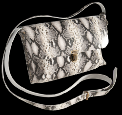 Shoulder Bag Kate Big | Snake Black & White