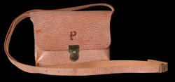 Saddle-Tasche Kate Craqueleure | Cognac