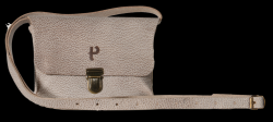 Saddle-Tasche Kate Craqueleure | Grau