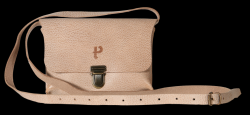 Saddle-Tasche Kate Craqueleure | Sand
