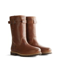 Lederstiefel 'Travelin Island Men' | Cognac