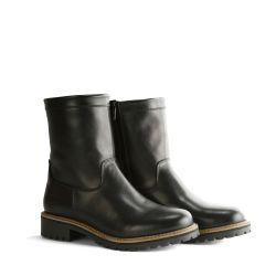 Leather Boots 'Travelin Vimpeli Women' | Black