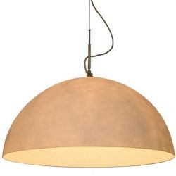 Pendant Light Mezza | Bronze/White