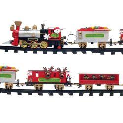 Weihnachtsbaum-Zug