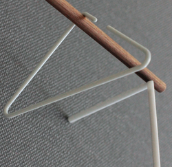Coat Hanger Triangle | White