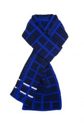 Scarf Tricolor | Blue
