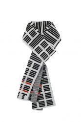 Scarf Tricolor | Black & White