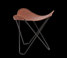 Stool Tricorona | Light Brown