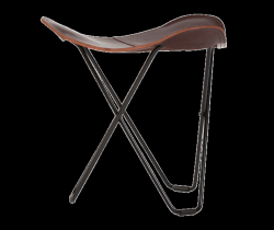 Stool Tricorona | Chocolate