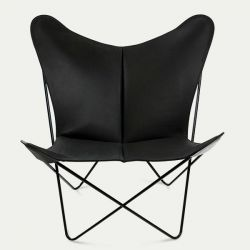 Butterfly Trifolium Chair Black & Black Frame