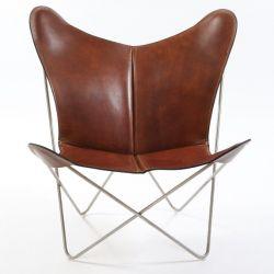 Butterfly Trifolium Chair Cognac