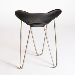 Trifolium Stool Black