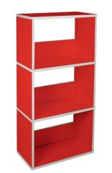 Triplet Bookshelf | Red