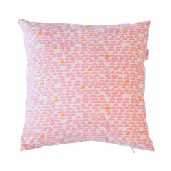 Deco Cushion | Pebble Rose