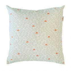 Deco Cushion | Pebble Green