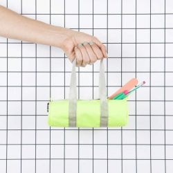 Duffle Pencil Case | Neon Yellow