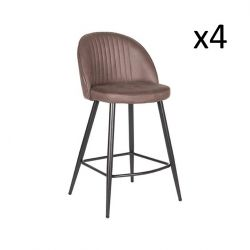 Barstool Tyler | Truffle Brown | Set of 4