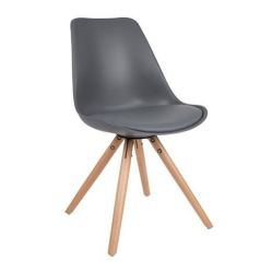 D | Chair Nina Grey | Set of 2