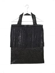 Tote Bag | Shiny Black