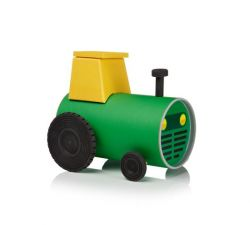 Tube Toy Tractor