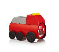 Tube Toy Fire Truck
