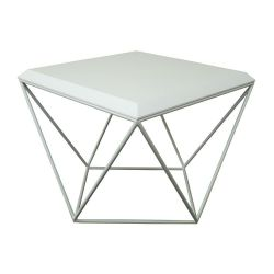 Tulip Table de Salon | MDF Blanc