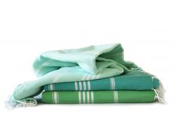 Hammam Towel Turkuaz Set of 3 | Blue Moon & Apple & Mint